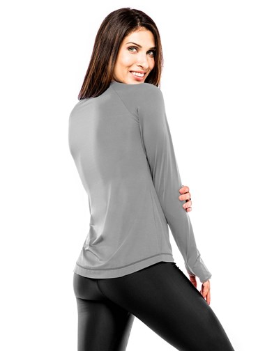BLUSA UV PROTECTION CINZA
