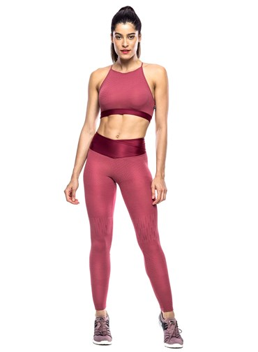 LEGGING BEAT TERRACOTA